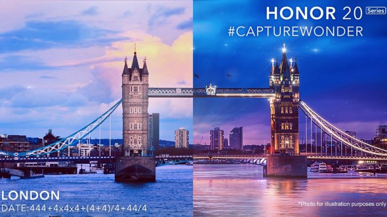 Honor 20 series smartphones to be launched in London on May 21
