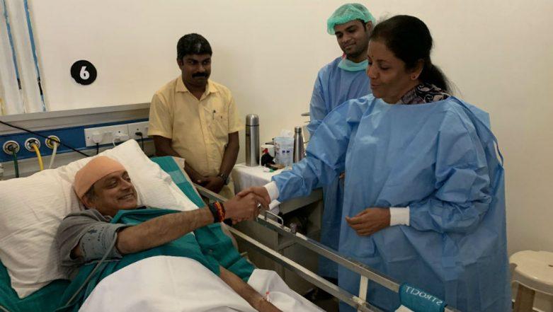 Nirmala Sitharaman Visits Injured Shashi Tharoor at Kerala Hospital; Civility Is a Rare Virtue, Says Congress MP