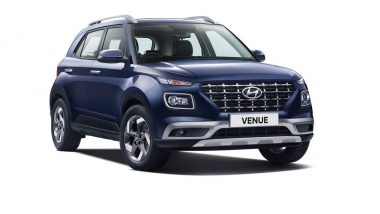 Hyundai Venue 2019 Sub-Compact SUV Officially Unveiled in India; To Rival Maruti Vitara Brezza & Mahindra XUV300