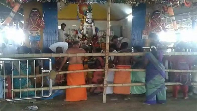 Karuppasamy Temple Stampede: Seven Dead, 10 Injured in Trichy; PM Modi Announces ex-Gratia of Rs 2 Lakh Each For Victims' Kin