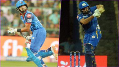 DC vs MI Head-to-Head Record: Ahead of IPL 2019 Clash, Here Are Match Results of Last 5 Delhi Daredevils vs Mumbai Indians Encounters!