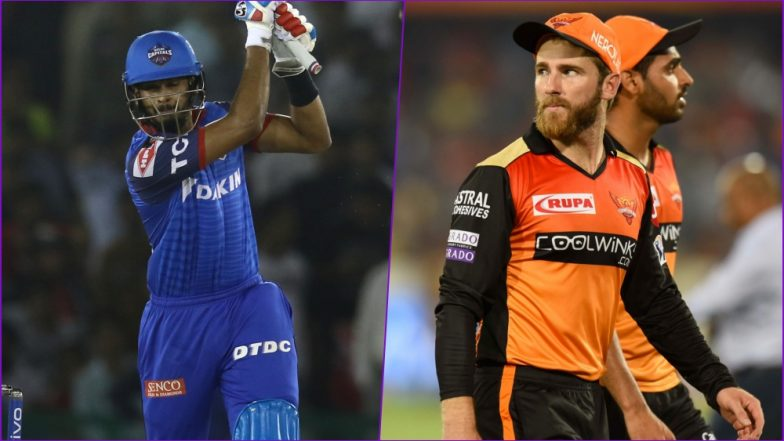 DC vs SRH Head-to-Head Record: Ahead of IPL 2019 Clash, Here Are Match Results of Last 5 Delhi Capitals vs Sunrisers Hyderabad Encounters!