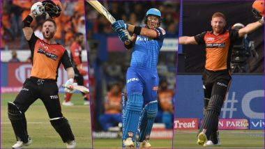 DC vs SRH, IPL 2019 Match 16, Key Players: David Warner to Colin Ingram to Jonny Bairstow, These Cricketers Are to Watch Out for at Feroz Shah Kotla Stadium