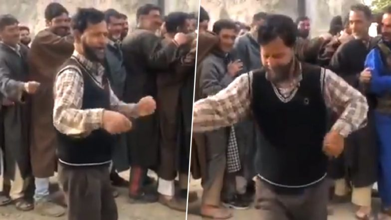 Dancing Voter From Bandipora in Jammu and Kashmir is Winning Hearts on Social Media Amid Phase I Voting For Lok Sabha Elections 2019; Watch Video