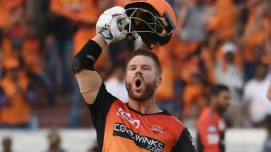Sunrisers Hyderabad's David Warner Records Seven Consecutive Fifties Against Kings XI Punjab