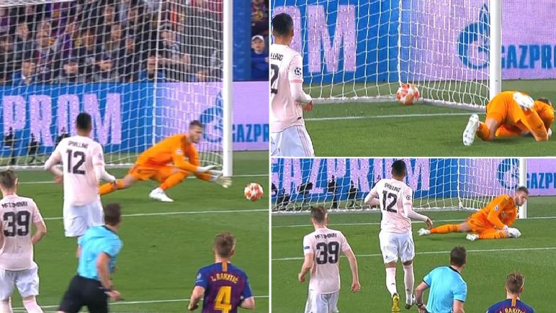 David de Gea Memes Flood After Barcelona Knock Manchester United Out of UEFA Champions League 2018-19 Quarter-Final Match, Check Out Man United Goalkeeper's Epic Mistake