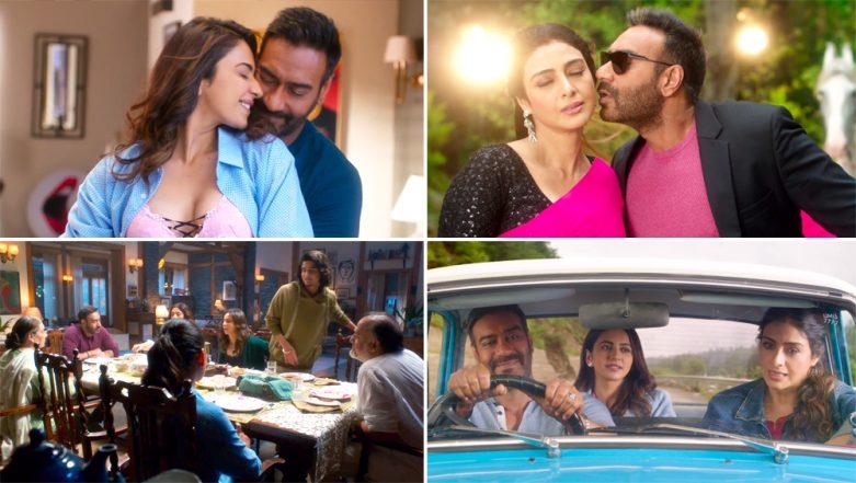 De De Pyaar De Trailer Out! Ajay Devgn is the Confused Loverboy Between the Gorgeous Ladies Tabu and Rakul Preet Singh