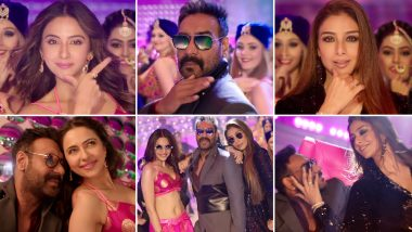 De De Pyaar De Song Hauli Hauli: Rakul Preet, Ajay Devgn, Tabu's Slow-Paced Track Fails to Give Us the Groovy Vibes (Watch Video)