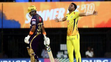 CSK vs KKR, IPL 2019: Deepak Chahar Takes Three Wickets as Chennai Super Kings Restrict Kolkata Knight Riders to 108/9