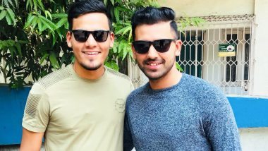 Ahead of CSK vs MI IPL 2019 Game, Brothers Deepak and Rahul Chahar Pose For a Stylish Photo