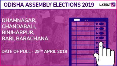 Dhamnagar, Chandabali, Binjharpur, Bari, Barchana Assembly Elections Results 2019 in Odisha: BJP Wins 1, BJD Bags 4 Constituencies