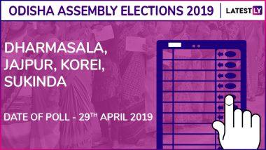 Dharamsala, Jajpur, Korei, Sukinda Assembly Elections Results 2019 in Odisha: BJD Wins All 4 Constituencies