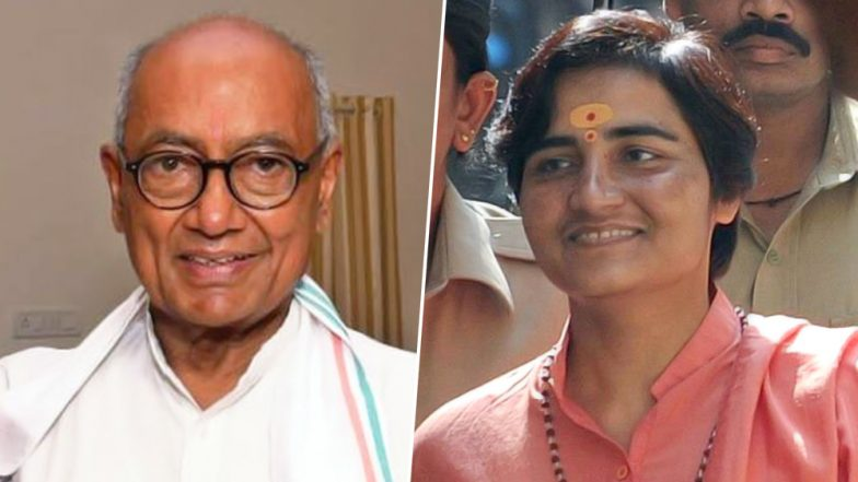 Sadhvi Pragya to Contest From Bhopal Lok Sabha Seat As BJP Candidate Against Digvijay Singh