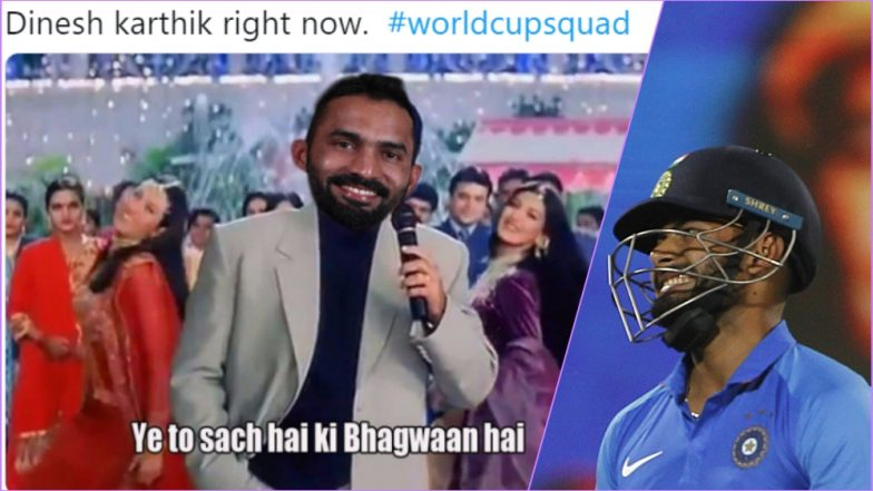 Funny Memes on Team India 15-Man Squad for ICC Cricket World Cup 2019 Will Make Rishabh Pant, Dinesh Karthik, Vijay Shankar & Ambati Rayudu Fans Laugh and Cry for Different Reasons!