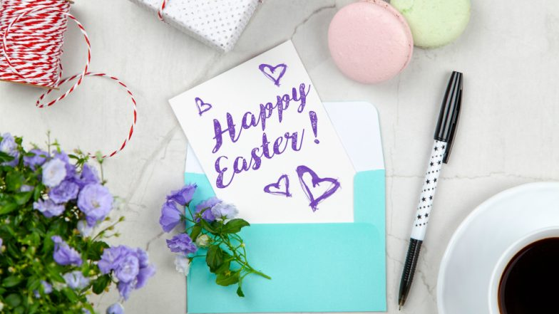 Easter Images With Quotes & HD Wallpapers for Free Download Online: Wish Happy Easter Sunday 2019 With GIF Greetings & WhatsApp Sticker Messages