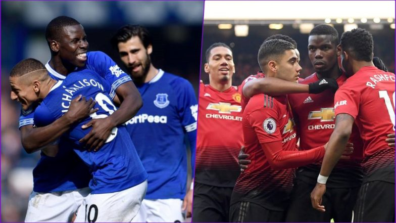 Everton vs Manchester United, EPL 2018–19 Live Streaming Online: How to Get Premier League Match Live Telecast on TV & Free Football Score Updates in Indian Time?