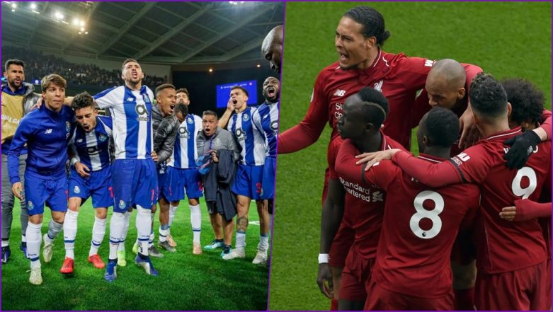 FC Porto vs Liverpool, Champions League Quarter-Final Live Streaming Online: How to Get UEFA CL 2018–19 Leg 2 of 2 Match Live Telecast on TV & Free Football Score Updates in Indian Time?
