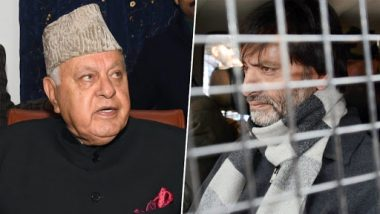 J&K Terror Funding Case: Farooq Abdullah Cautions Centre to Act Slow After JKLF Chief Yasin Mailk's Arrested