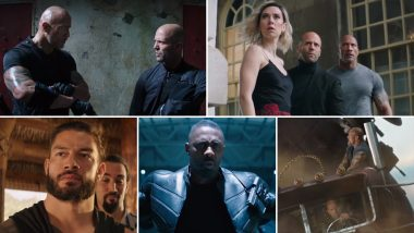 Fast & Furious: Hobbs & Shaw Trailer: Dwayne Johnson and Jason Statham Take On Idris Elba's 'Black Superman' in a Heady Mix of Humour and Action – Watch Video