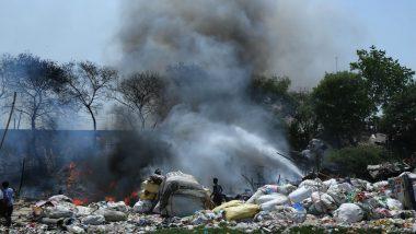 Delhi: Massive Fire Breaks Out at in East Delhi