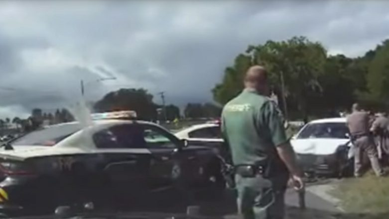Wild Weekend in Florida: Three Naked Girls Lead Police on Hour-Long Car Chase