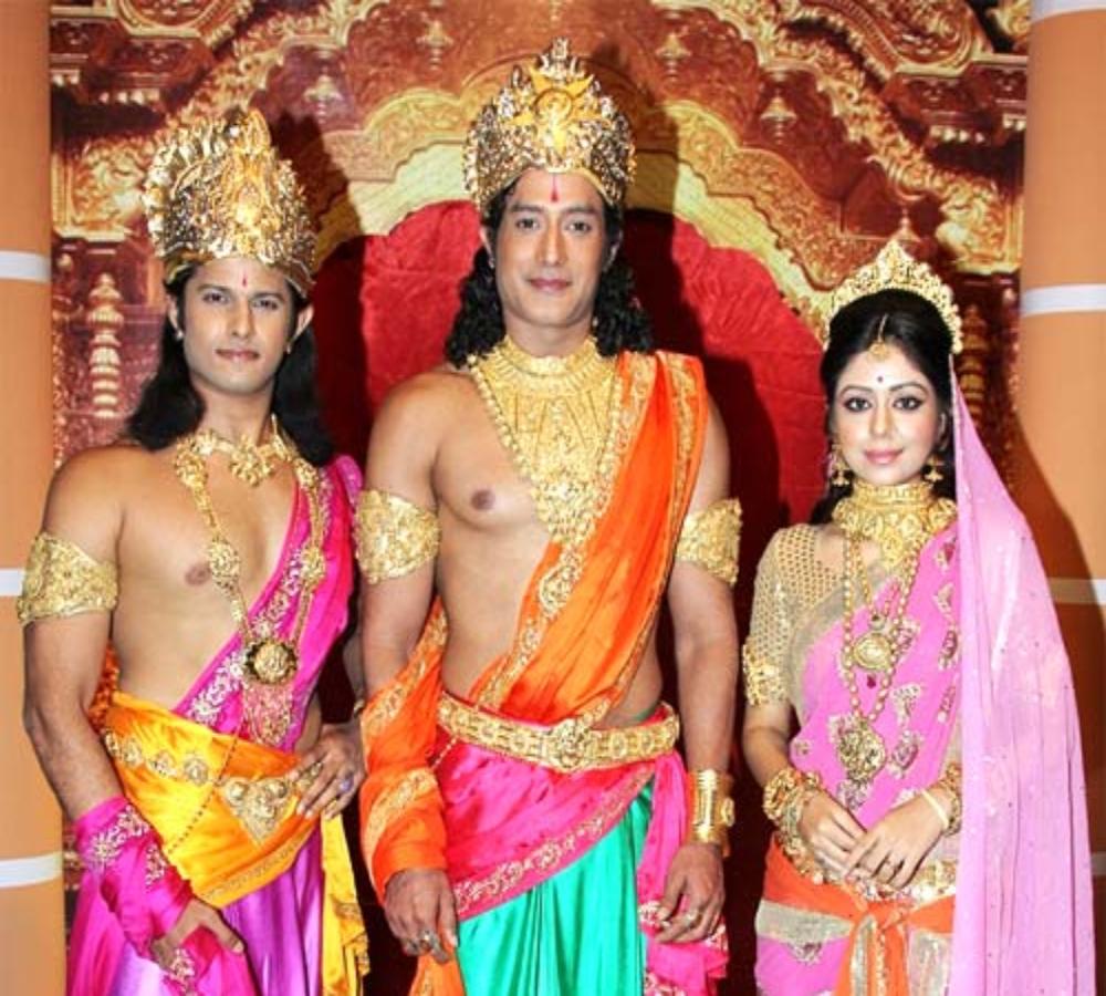 Gagan Malik in Ramayana.