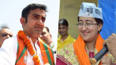AAP Candidate Atishi's Letter to Election Commission Alleges 2nd Poll Code Violation by Gautam Gambhir, Demands 72-Hour Ban