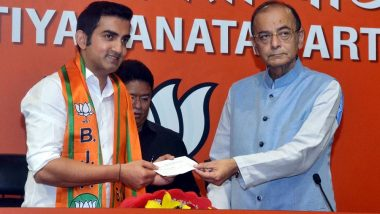 Gautam Gambhir Named BJP Candidate From East Delhi, Meenakshi Lekhi Fielded From New Delhi in Lok Sabha Elections 2019