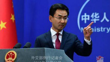 China Warns US, Says 'Stop Interfering in Hong Kong Affairs'