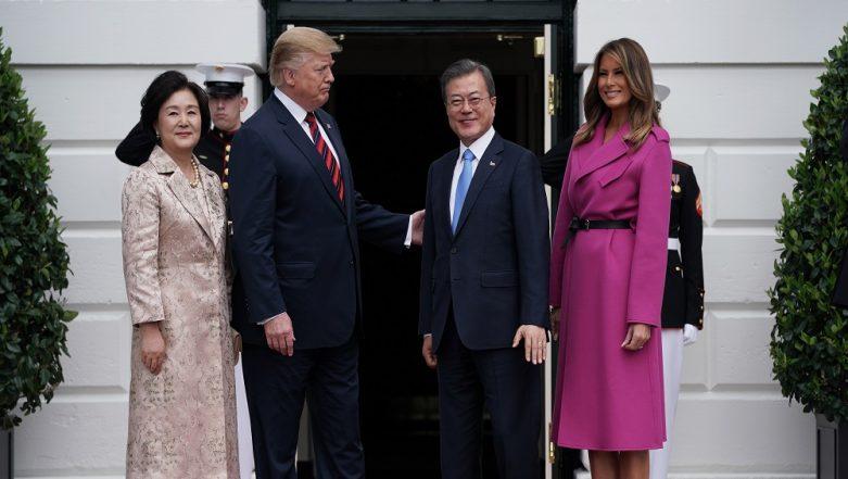 Moon Jae-in, Donald Trump Meet in Wake of North Korea Summit Failure