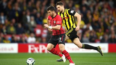 Shane Long Scores Fastest Goal of Premier League History in Record 7.69 Seconds Against Watford; Watch Video