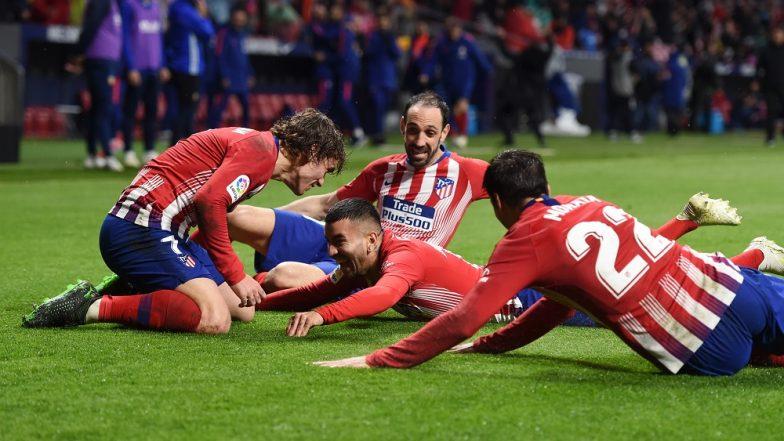 Atlético Madrid Beat Valencia, Keeps La Liga Title Race Alive