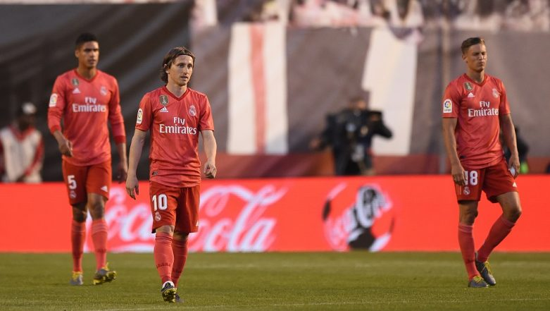 La Liga 2018–19: Real Madrid Misery Continues With Defeat at Struggling Rayo Vallecano