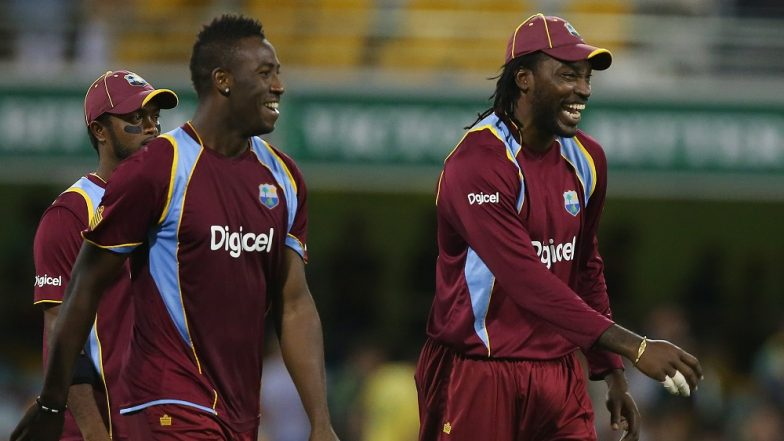 West Indies Team for ICC Cricket World Cup 2019: Chris Gayle, Andre Russell Named in 15-Man Squad, Sunil Narine and Alzarri Joseph Ignored