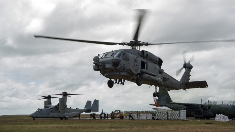 US Approves Sale of 24 Submarine-Hunting MH-60R Seahawk Helicopters to India
