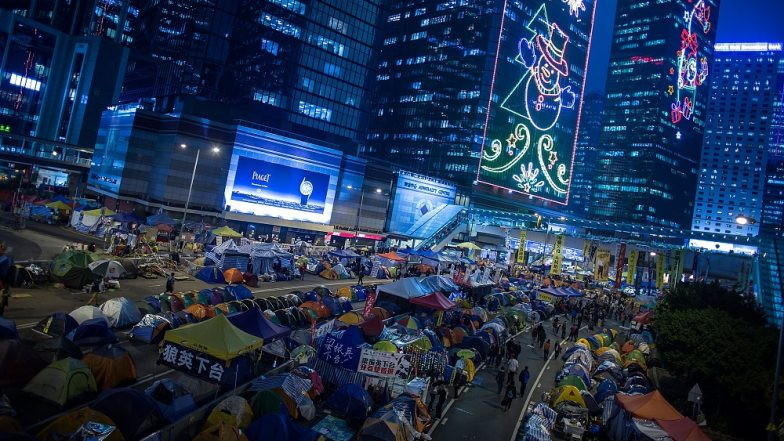 Umbrella Movement: Hong Kong Democracy Leaders Jailed Over Protests That Paralysed the City for Months