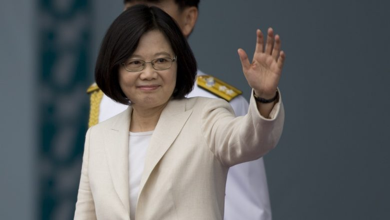 Taiwan President Tsai Ing-wen Says US Trade Deal Would Boost Security