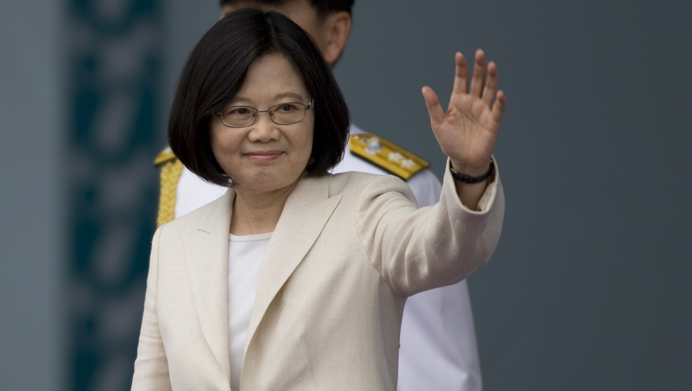 Island's Democracy Under Threat from China, Says Taiwan President Tsai Ing-wen