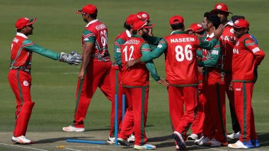 Live Cricket Streaming of Oman vs Papua New Guinea: Check Live Cricket Score, Watch Free Live Telecast of Scotland Tri-Series, 2019