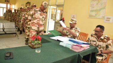 Lok Sabha Elections 2019: ITBP Soldiers Cast First Vote of Polls in Arunachal Pradesh