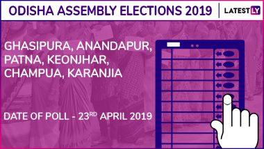 Ghasipura, Anandapur, Patna, Keonjhar, Champua, Karanjia Assembly Elections Results 2019 in Odisha: Check List of Winning Candidates