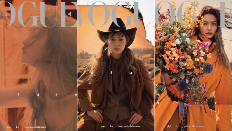 Gigi Hadid Looks Too Beautiful For Words In The Latest Cover Of Vogue Czechoslovakia! View Pics