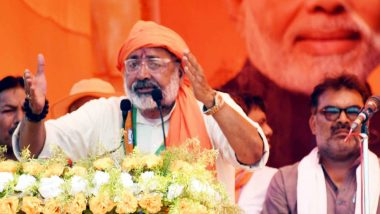 India More Scared of Those Who Speak Pakistan's Language in Parliament: Giriraj Singh