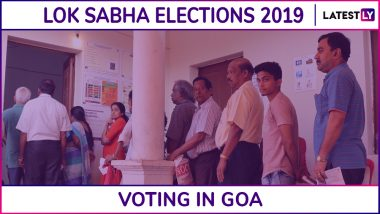 Goa Lok Sabha Elections 2019: Phase 3 Voting Underway For North And South Goa Parliamentary Constituencies, Turnout of 2.29% Till 9 AM