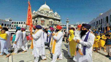 Baisakhi Festival Concludes at Pakistan's Gurdwara Panja Sahib; Over 2000 Indian Sikh Pilgrims Participate (Watch Video)