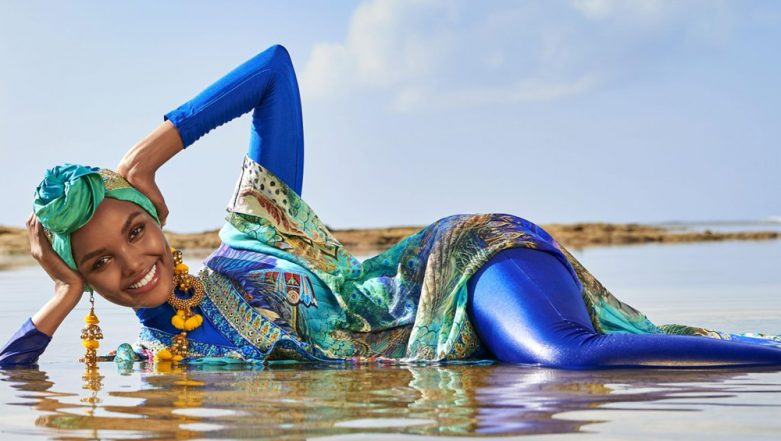 Hijab-Wearing Model Halima Aden Becomes First to Wear Burkini on Sports Illustrated Swimsuit Issue Cover (View Pic)