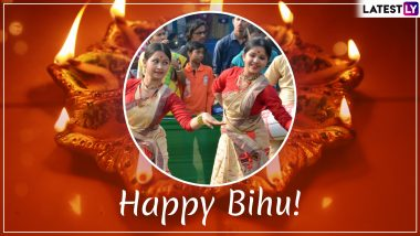 Bohag Bihu 2019 Wishes and Messages: WhatsApp Stickers, GIF Images, Quotes & SMS to Send Rongali  Bihu and Assamese New Year Greetings