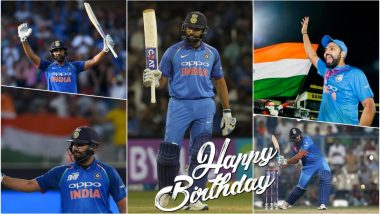 Rohit Sharma's 32nd Birthday: Five Innings by the Vice-Captain of Indian Cricket Team Are Must-Watch on His Special Day!