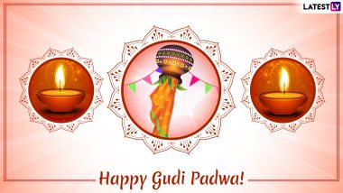Happy Gudi Padwa 2019 Wishes & Ugadi Greetings: Best WhatsApp & Hike Stickers, SMS, Quotes, GIF Image Messages to Celebrate Marathi New Year