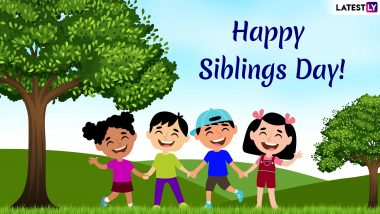 National Siblings Day 2019: Funny Quotes, GIF Images, and SMS Messages to Share With Your Brothers and Sisters